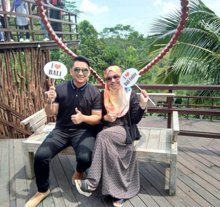Bali Honeymoon Raja Muhammad 2