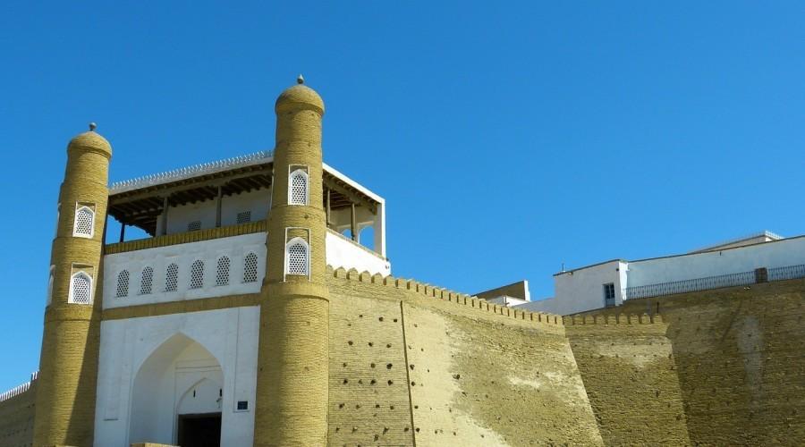 Bukhara Ark Fortress Castle