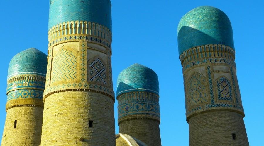 Mosque Minor Choir Four Minarets