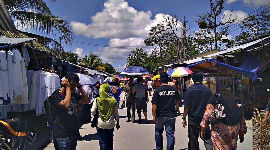 Pasar Bau Serikin Sarawak
