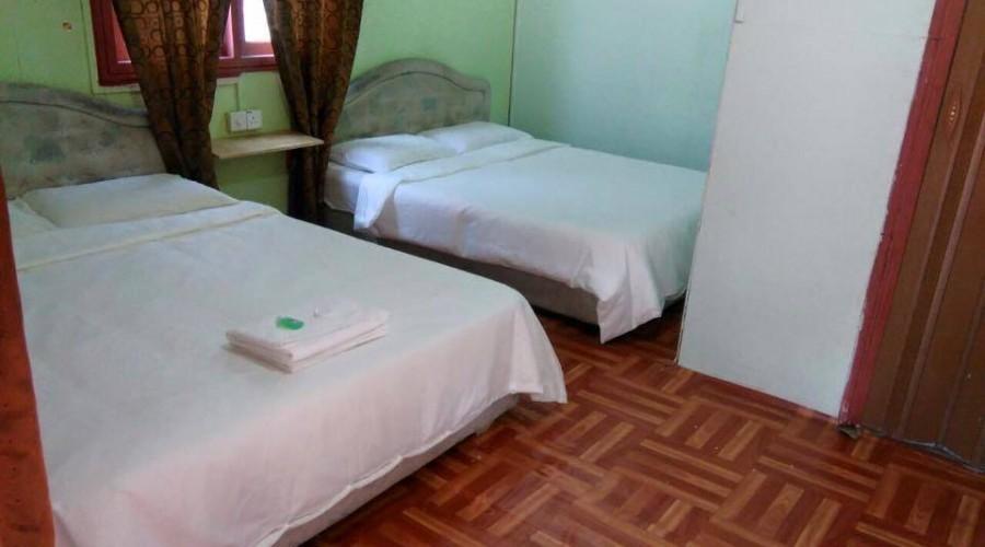 Quad Sharing Damai Tioman Resort