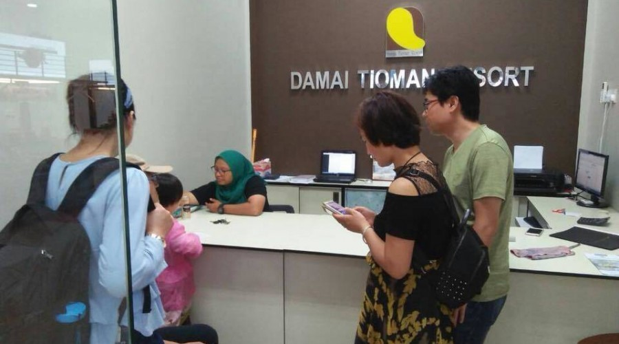Register Damai Tioman Resort