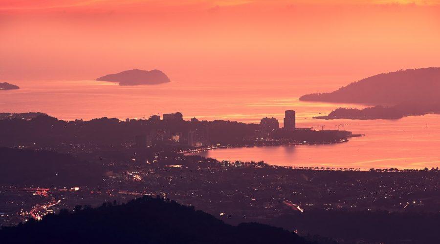 Pemandangan-Kota-Kinabalu-Sunset