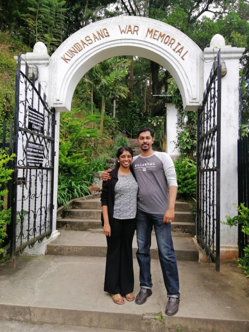 Tharani Nalalingam Honeymoon