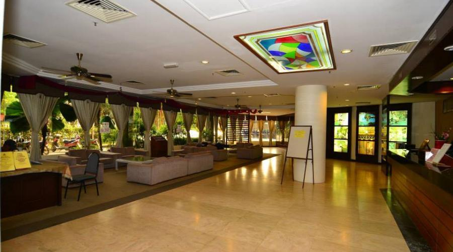 Lobby Area Coral Bay Resort