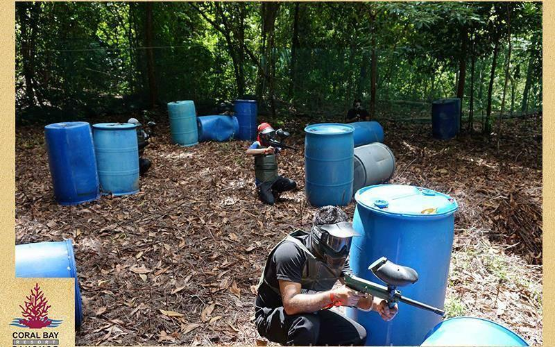 PaintBall Coral Bay Resort