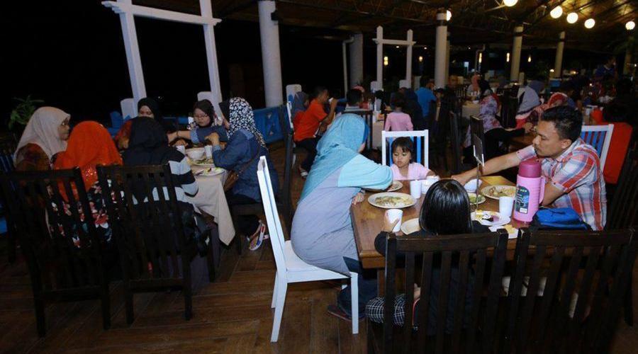 Arwana Perhentian Resort Night Dinner