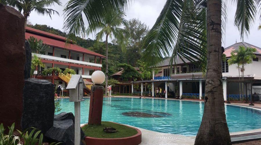 Arwana Perhentian Resort Pool Side