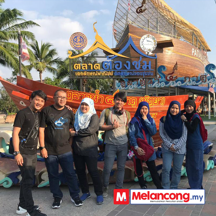 Percutian Id Nurbaini ke Bangkok & Phuket