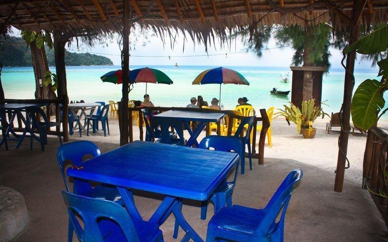 Restoran di Samudra Beach Chalet
