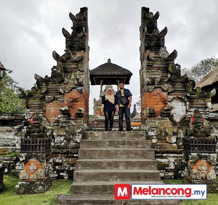 Nadzurah Hirudin & Suami Bulan Madu Bali