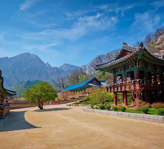 Pakej Korea 3 Musim