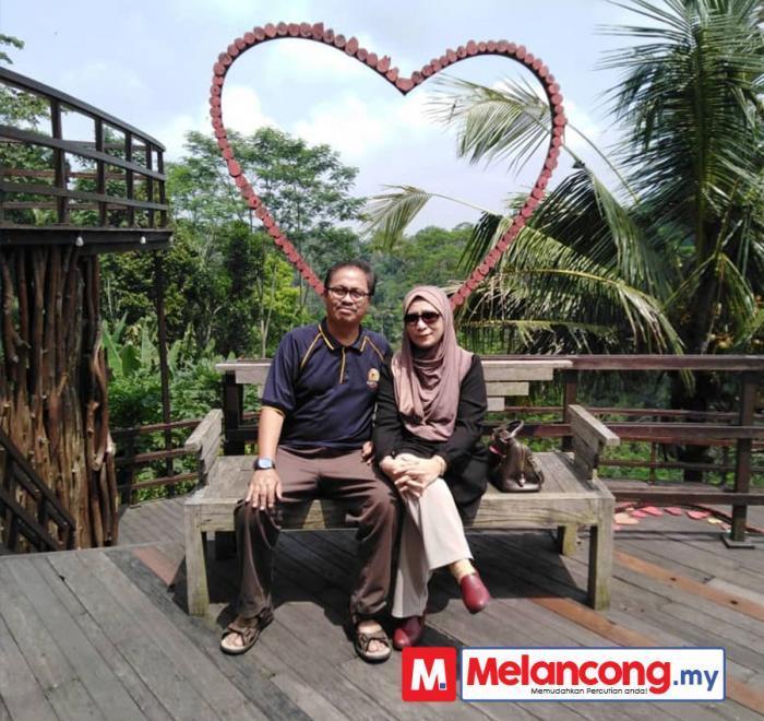 Percutian Honeymoon Bali Rozimah dan Suami