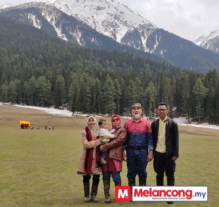Percutian Kashmir 7 Hari 5 Malam Nordiah & Keluarga