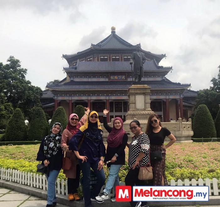 Kasmira dan Kumpulan Percutian di Guangzhou