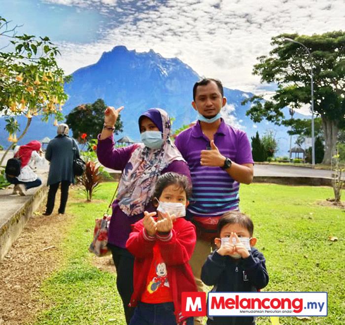 Percutian Kota Kinabalu Rafeah Sagi